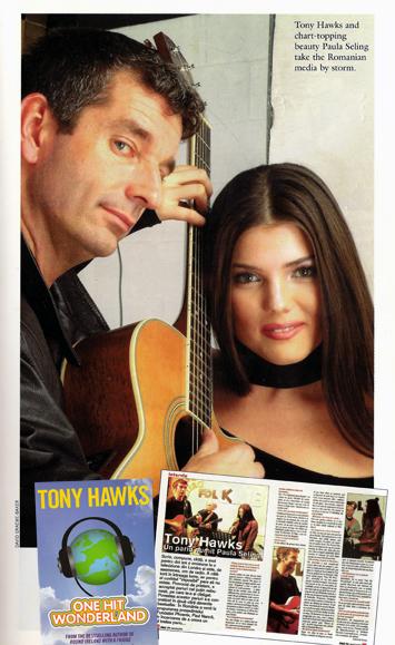 Paula Seling cu Tony Hawks